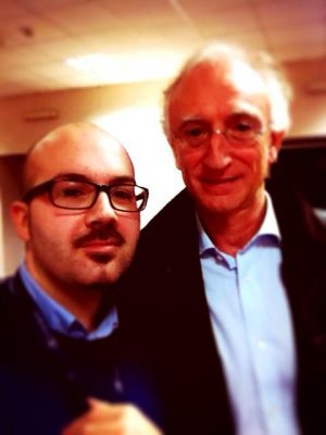 Con il Prof. Richard Gaston