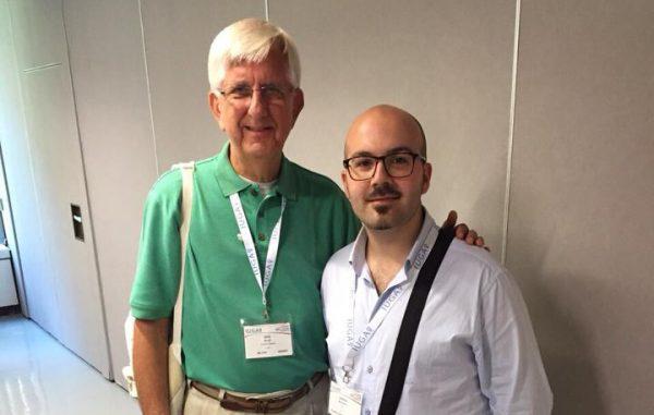 Con il Prof. Bob Shull