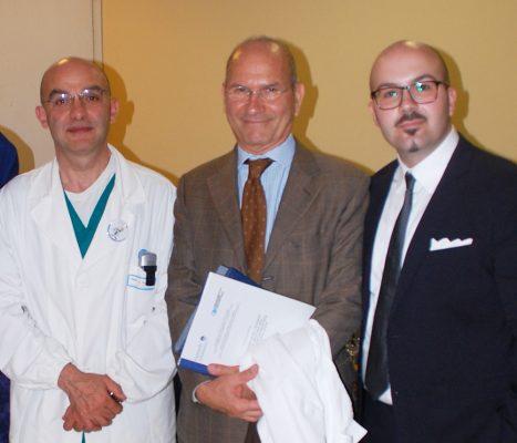 Con i Prof. Giovanni Scambia e Mauro Cervigni