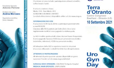 UroGynDay Terra d'Otranto – 10 Settembre 2021
